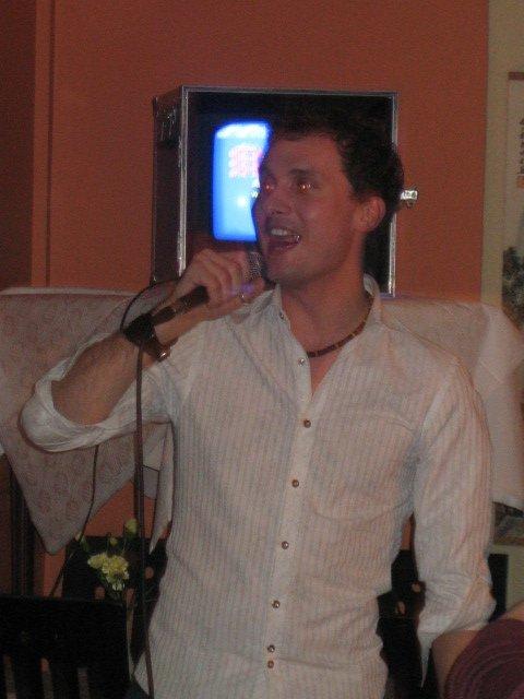 Darren in Karaoke