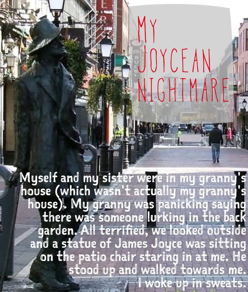 My Joycean Nightmare Image